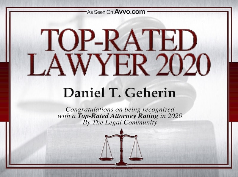 2020 Avvo criminal defense award